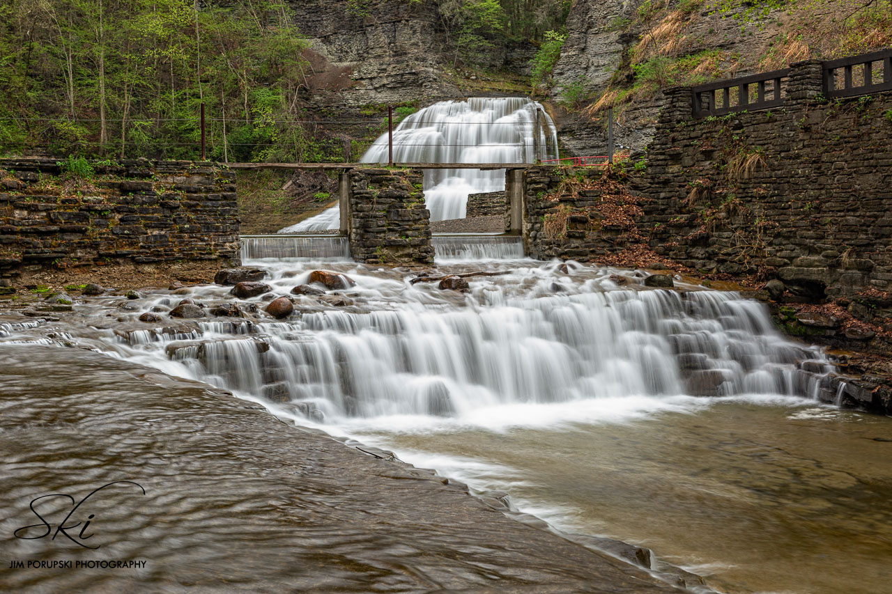 Lower Falls in Tompkins County (photo)