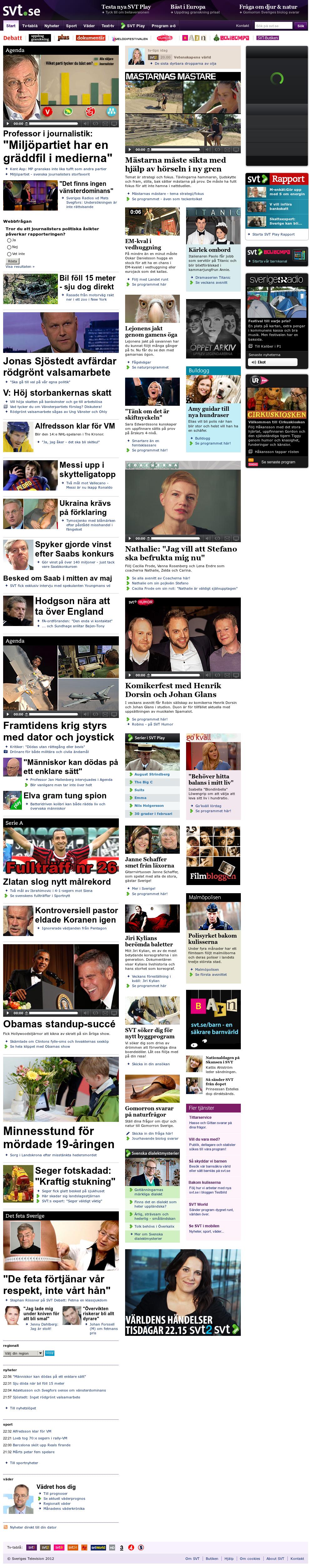 SVT at Sunday April 29, 2012, 11:26 p.m. UTC