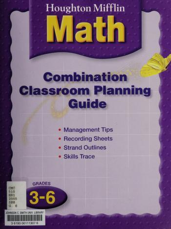 Cover of: Houghton Mifflin Math (symmetry, vol.2 grade 3) |
