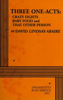 Cover of: Three one-acts | David Lindsay-Abaire
