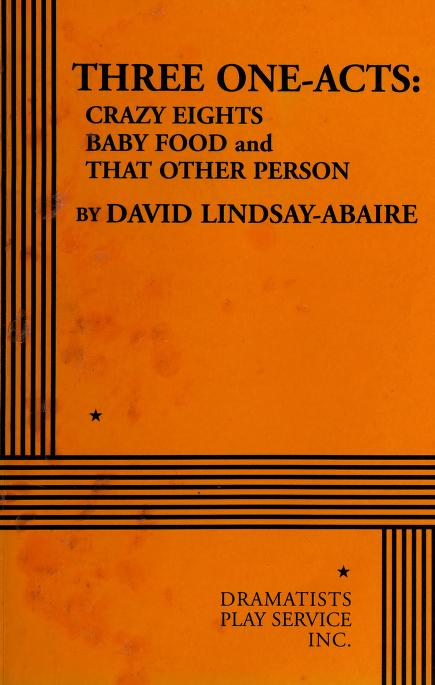 Three one-acts by David Lindsay-Abaire
